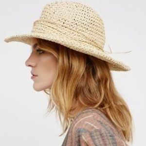 Free People Mellow Mood Packable Straw Hat